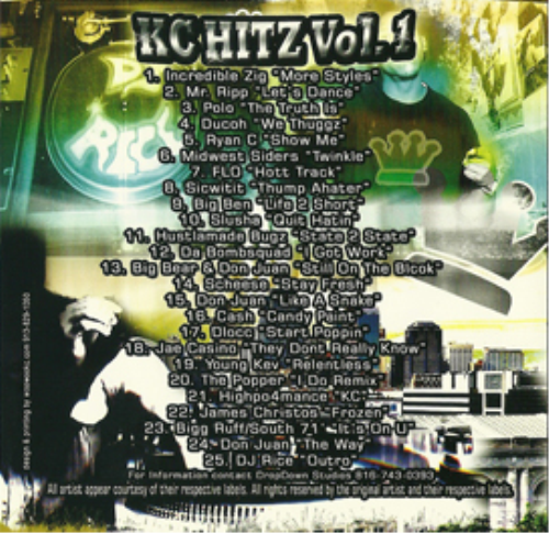 First Additional product image for - Dj Rice - Kc Hitz Vol.#1 - Mixtape