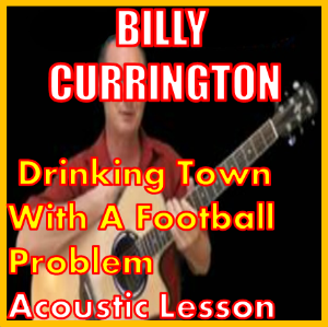 Learn to play Drinking Town With A Football Problem by Billy Currington | Movies and Videos | Educational