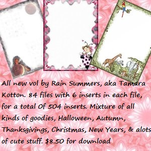 new vol by rain summers