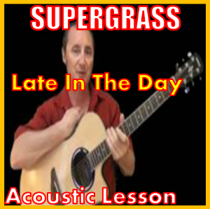 Learn to play Late In The Day by Supergrass | Movies and Videos | Educational