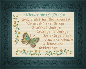 The Serenity Prayer 2 | Crafting | Cross-Stitch | Other