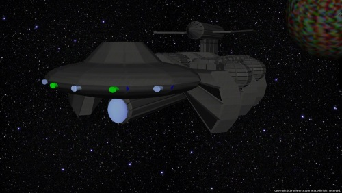 Second Additional product image for - Starship Mundilfari Background