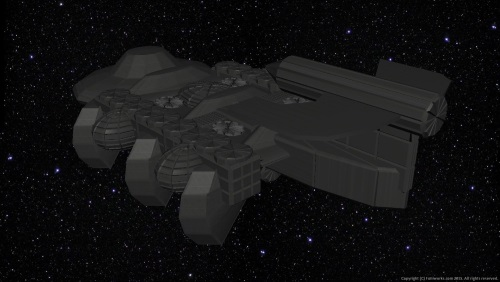 Fourth Additional product image for - Starship Mundilfari Background