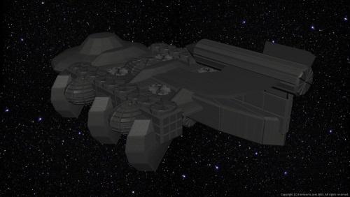 Fourth Additional product image for - Starship Mundilfari Background