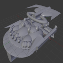 Blender 3D Starship Model | Other Files | Graphics