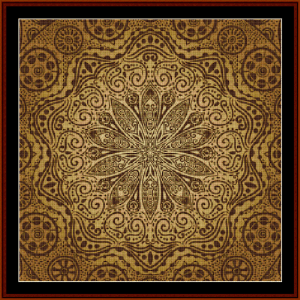 Fractal 520 cross stitch pattern by Cross Stitch Collectibles | Crafting | Cross-Stitch | Wall Hangings