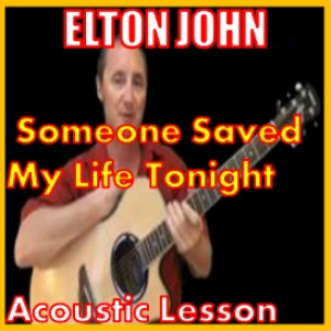 learn to play someone saved my life tonight by elton john