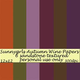 Autumn Wine Papers