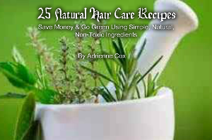 25 all natural hair care recipes