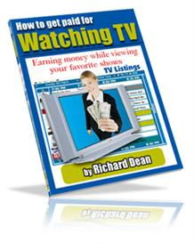 Get Paid To Watch TV - Earn Money While Watching TV | eBooks | Business and Money