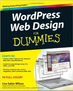 wordpress web design for dummies ebooks business and money
