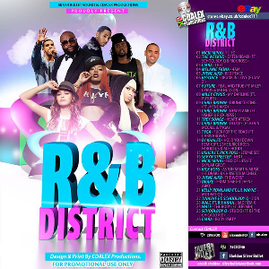silver bullet sound - r&b district mix ( 2015)