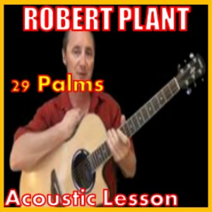 Learn to play 29 Palms by Robert Plant | Movies and Videos | Educational