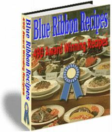 blue ribbon recipes, 490 award winning recipes - ebook