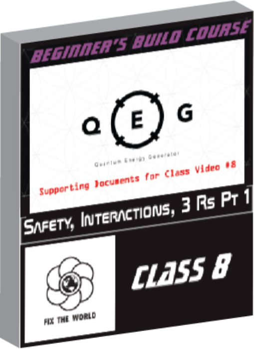 First Additional product image for - Class 8: Safety, Interactions & 3 Rs Pt 1