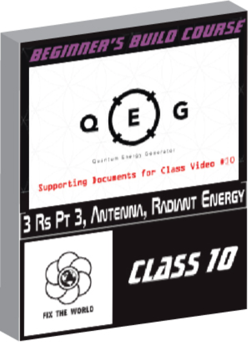 First Additional product image for - QEG Class 10: 3Rs-Part 3, Antenna & Radiant Energy