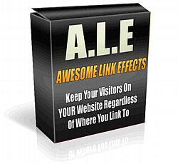 A.L.E. Awesome Link Effects - MRR | Software | Developer