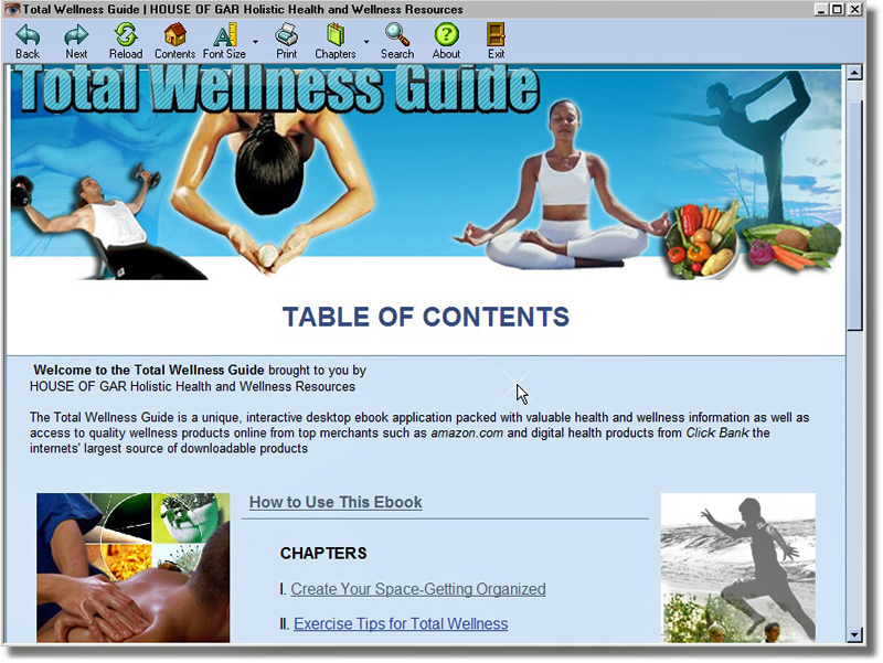 First Additional product image for - Total Wellness Guide - Interactive Ebook Plus 5 Bonuses