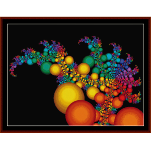 Fractal 157 cross stitch pattern by Cross Stitch Collectibles | Crafting | Cross-Stitch | Wall Hangings