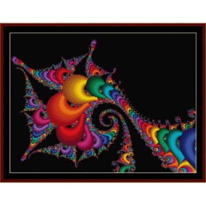 Fractal 164 cross stitch pattern by Cross Stitch Collectibles | Crafting | Cross-Stitch | Wall Hangings