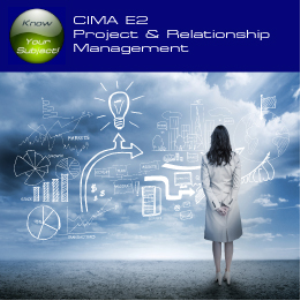CIMA E2 Project & Relationship Management | Software | Training