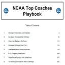 2015 NCAA Top Coaches Playbook   eBooks   Sports
