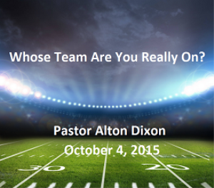 Whose Team Are You Really On? | Music | Gospel and Spiritual