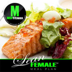 lean female | meal plan
