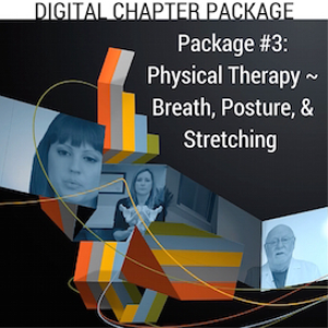 digital chapter package #3: physical therapy ~ breath, posture, & stretching
