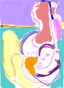 Mother with child | Photos and Images | Abstract