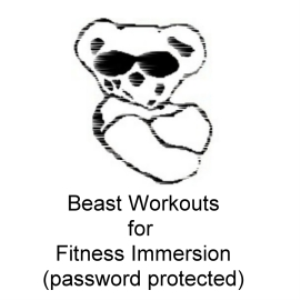 beast workout 044 round one for fitness immersion