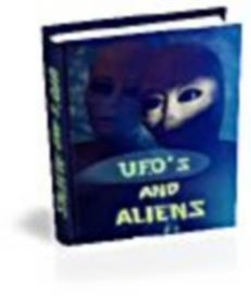 UFOs and ALiens - Interacive eBook - MRR | eBooks | Entertainment