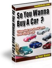 So You Wanna Buy A Car | eBooks | Business and Money