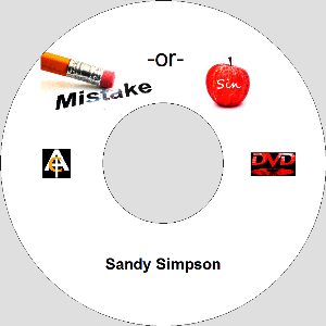 Mistake or Sin? (MP3)   Movies and Videos   Religion and Spirituality