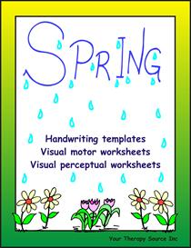 Spring Handwriting Activities | eBooks | Education