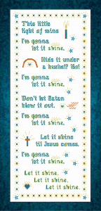 This Little Light of Mine | Crafting | Cross-Stitch | Other