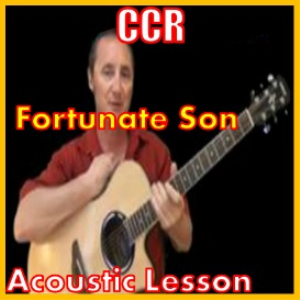 Learn to play Fortunate Son by CCR | Movies and Videos | Educational