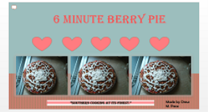 berry pie powerpoint template