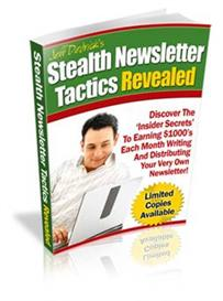 Stealth Newsletter Tactics Revealed - MRR | eBooks | Internet