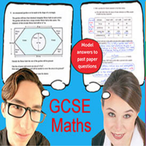 First Additional product image for - 1,748 GCSE Model Answers to Maths Past Paper Questions