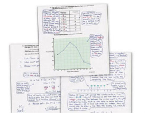 Second Additional product image for - 1,748 GCSE Model Answers to Maths Past Paper Questions
