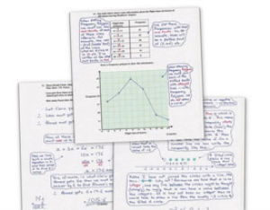 1,748 gcse model answers to maths past paper questions