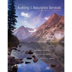 test bank for auditing and assurance services a systematic approach 9th edition messier, glover, prawitt