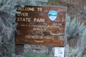 dyer state park sign | Photos and Images | Travel