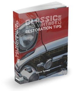 vintage cars - restoration tips
