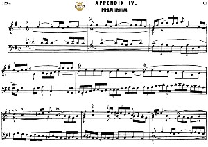 appendix 4, prelude in g major, j. s. bach, well tempered clavier ii, bischoff urtext ed. schirmer, a5,tablet  edition, 6pp