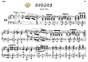 Piano Sonata No.16, Op.31 No.1 in G Major, L.V.Beethoven, Kohler-Ruthardt Rev.,Ed.C.F.Peters (1880), A5,Tablet Edition, 34pp | eBooks | Sheet Music