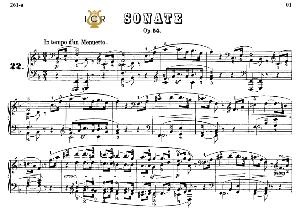 Piano Sonata No.22, Op.54 in F Major, L.V.Beethoven, Kohler-Ruthardt Rev.,Ed.C.F.Peters (1880), A5,Tablet Edition, 16pp | eBooks | Sheet Music
