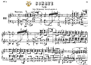 Piano Sonata No.32, Op.111 in C minor, L.V.Beethoven, Kohler-Ruthardt Rev.,Ed.C.F.Peters (1880), A5,Tablet Edition, 29pp | eBooks | Sheet Music