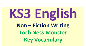 loch ness vocabulary builder